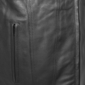Badlands - Leather Motorcycle Vest
