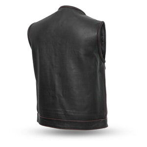 Bandit Men's Leather Club Vest
