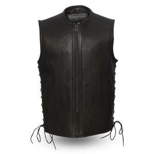 Venom - Men's Leather Motorcycle Vest