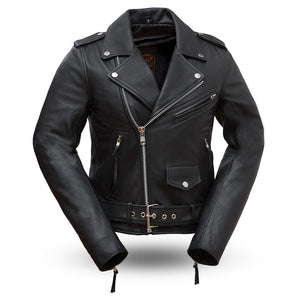 Rockstar - Women's Motorcycle Leather Jacket
