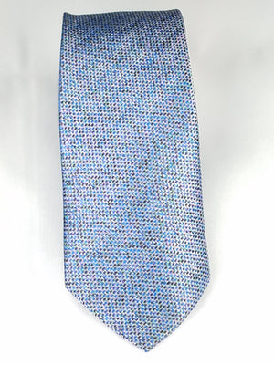 Men's Slim Tie - MS3200-BLUE PATTERN