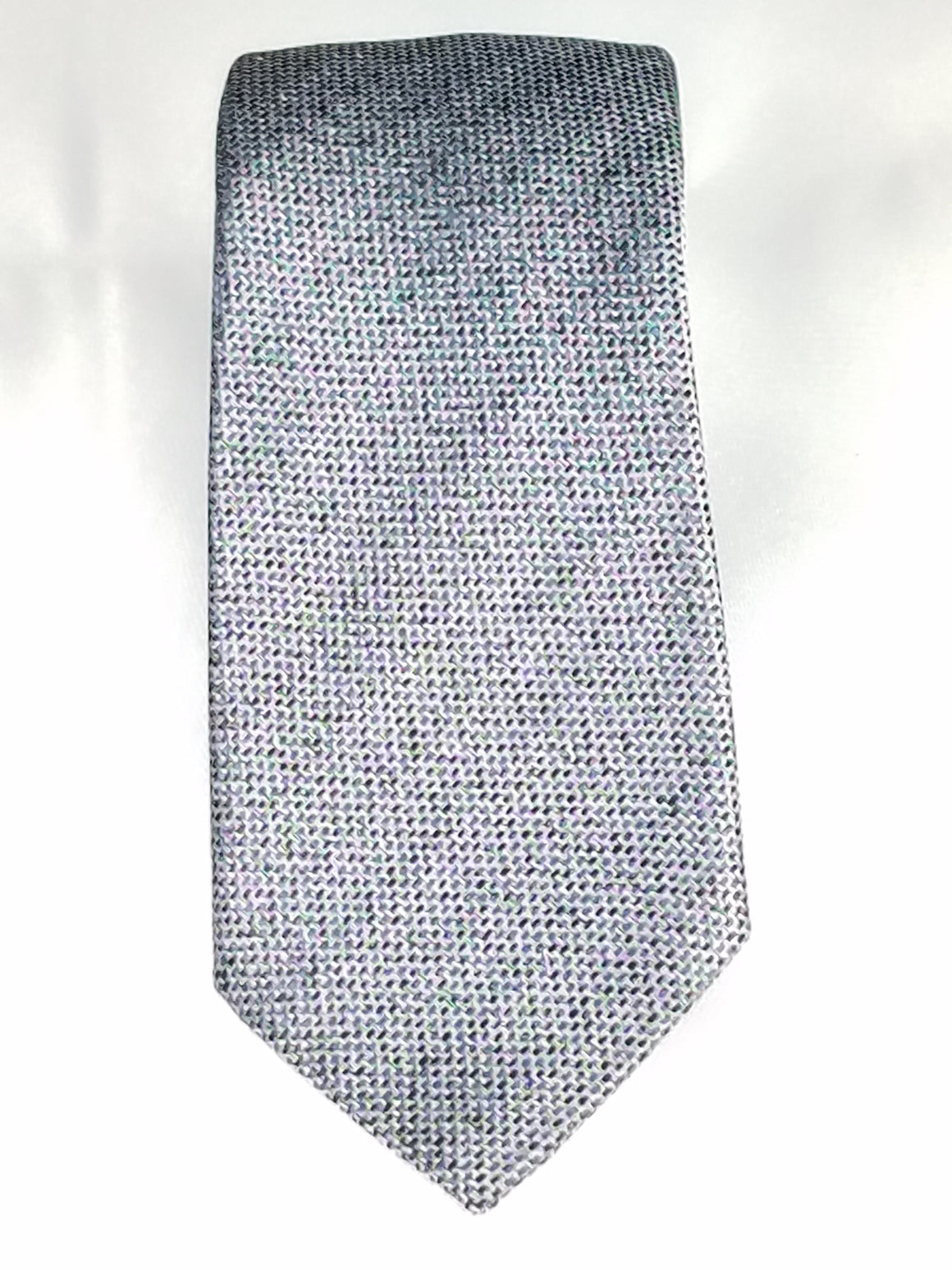 Men's Slim Tie - MS3200-SILVER PATTERN