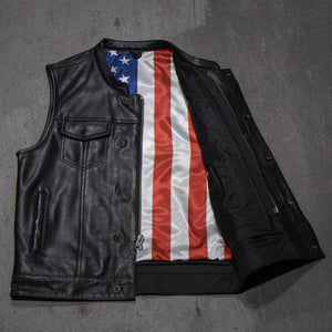 Sharp Shooter - American Flag  / Black Stitch