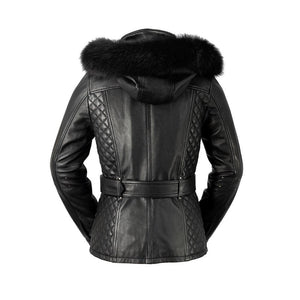 Elle - Women's Leather Jacket