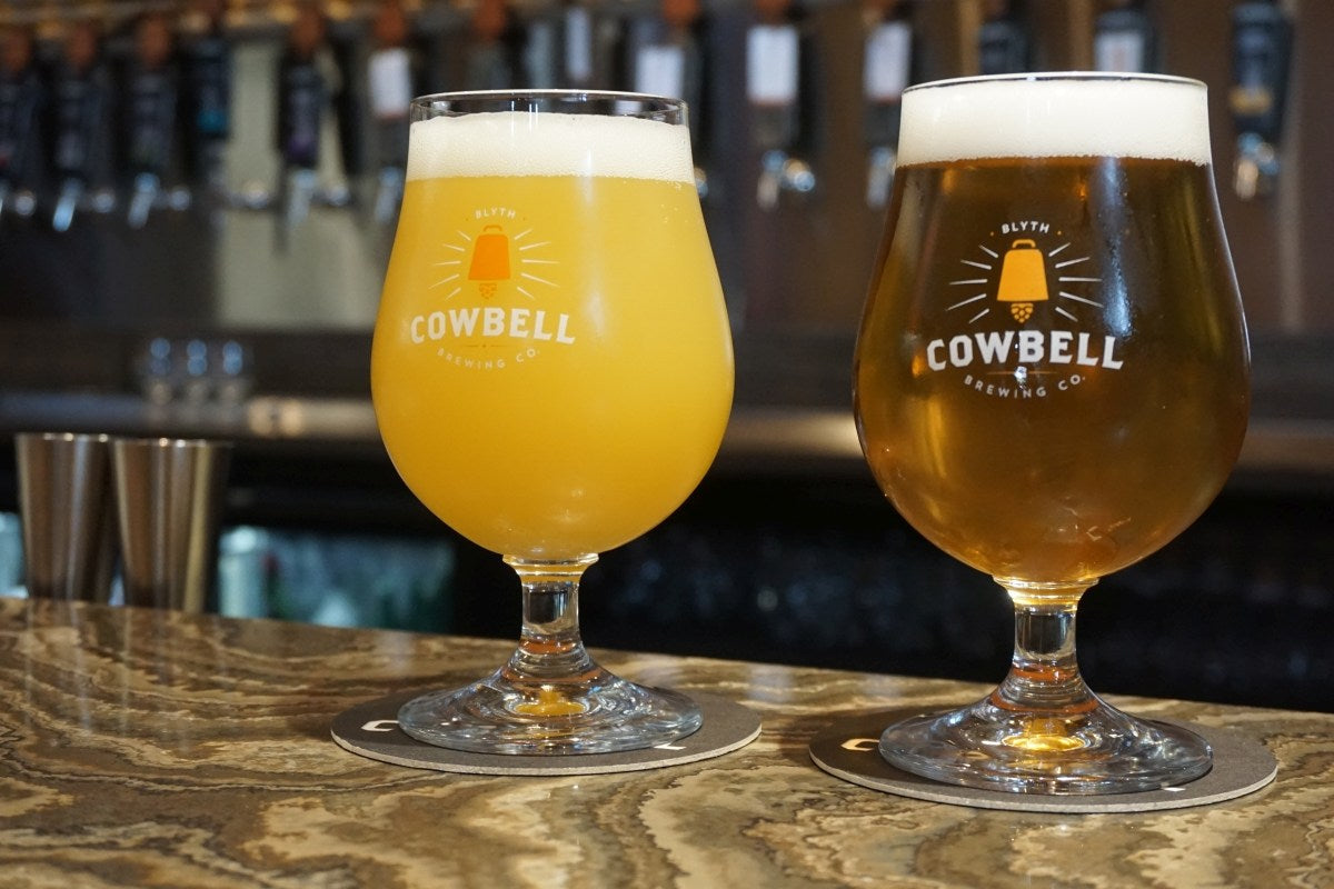 beer infused pizza dough now at cowbell brewery