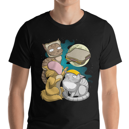 Three Sandwich Cat Moon (unisex)