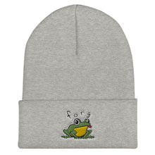 Load image into Gallery viewer, Forg Embroidered Snug Cuffed Beanie
