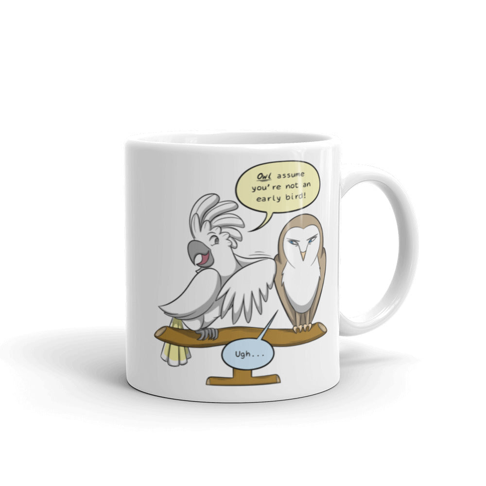 Early Bird and Night Owl Mug