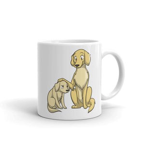 Golden Retrievers Mug