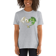 Load image into Gallery viewer, Unicorn and Dragon Heart T-Shirt (unisex)