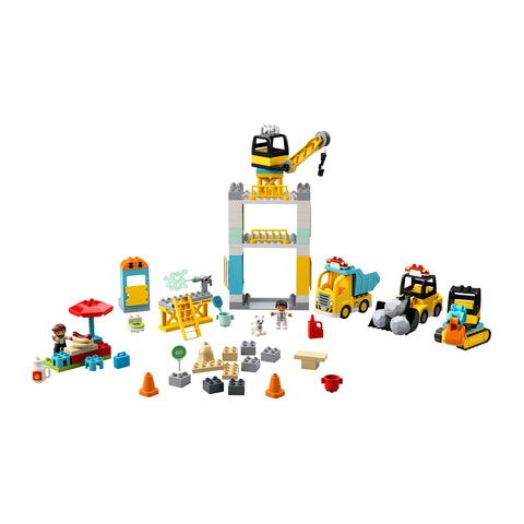 LEGO® DUPLO® Tower Crane & Construction