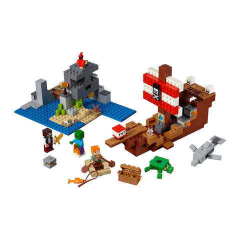 LEGO® Minecraft The Pirate Ship Adventure