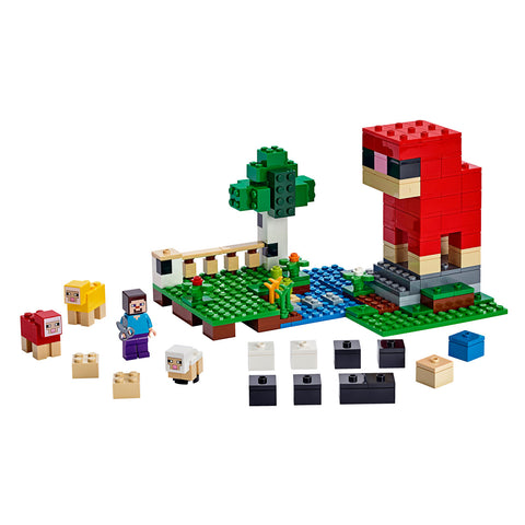 LEGO® Minecraft The Wool Farm