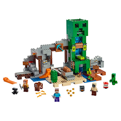 LEGO® Minecraft The Creeper Mine