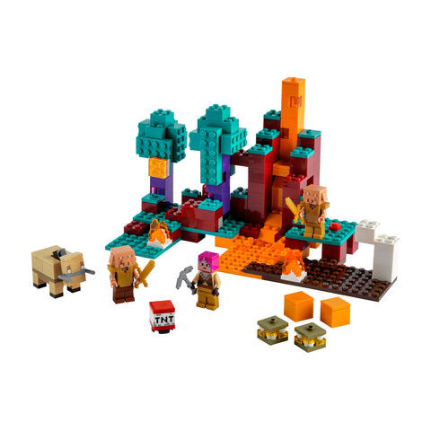LEGO® Minecraft The Warped Forest