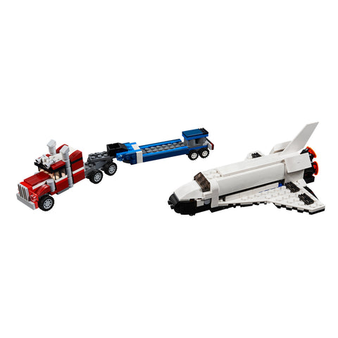 LEGO® CREATOR 3-in-1 Shuttle Transporter