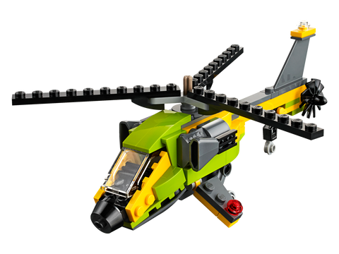 LEGO® CREATOR 3-in-1 Helicopter Adventure