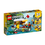 LEGO® CREATOR 3-in-1 Riverside Houseboat