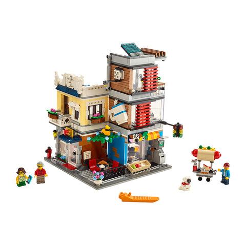 LEGO® CREATOR 3-in-1 Townhouse Pet Shop & Café
