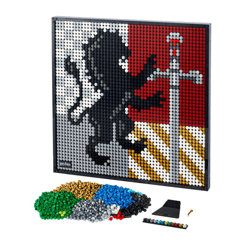 LEGO® ART Harry Potter™ Hogwarts™ Crests