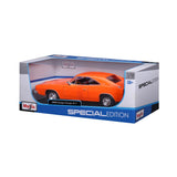 MAISTO 1:18 Scale Die-Cast Special Edition 1969 Dodge Charger R/T Orange