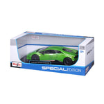 MAISTO 1:18 Scale Die-Cast Special Edition Lamborghini Huracan Performante Green