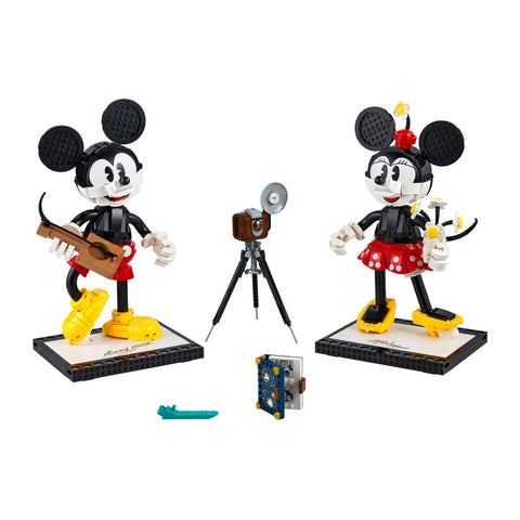 LEGO® DISNEY™ Mickey Mouse & Minnie Mouse Buildable Characters