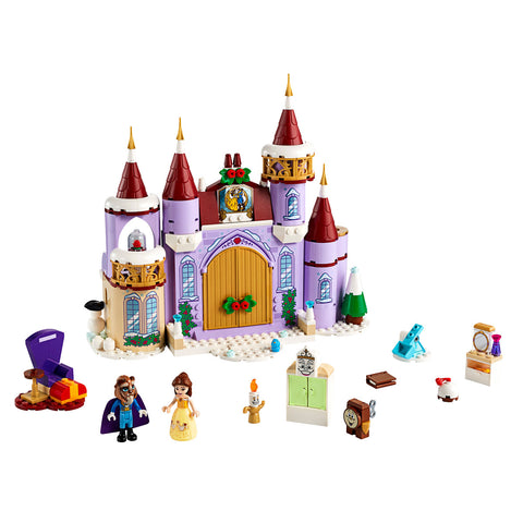 LEGO® DISNEY™ Belle's Castle Winter Celebration