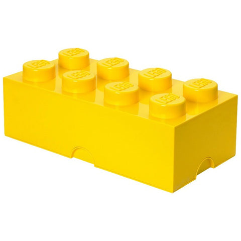 LEGO® 8-stud Yellow Storage Brick