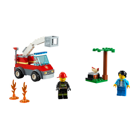 LEGO® City Barbecue Burn Out