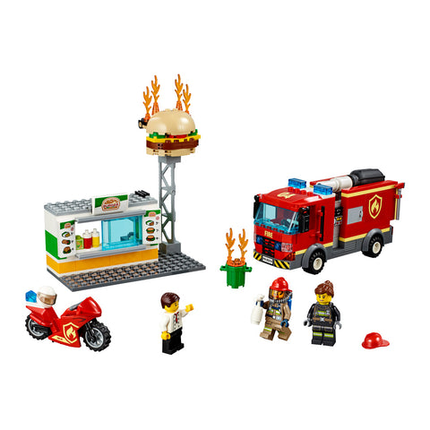 LEGO® City Burger Bar Fire Rescue