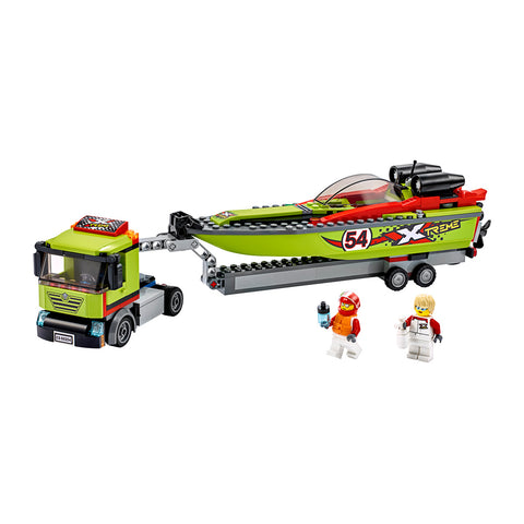 LEGO® City Race Boat Transporter