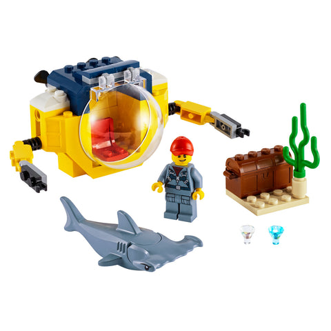 LEGO® City Ocean Mini-Submarine