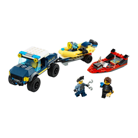 LEGO® City Elite Police Boat Transport