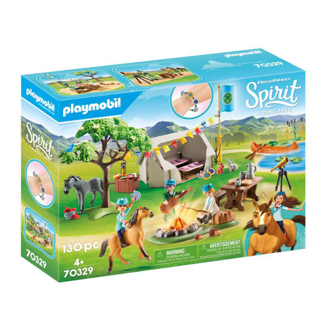 PLAYMOBIL Summer Campground 70329