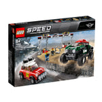 LEGO® Speed Champions 1967 Mini Cooper S Rally and 2018 MINI John Cooper Works Buggy