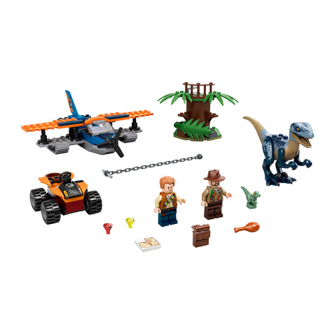LEGO® Jurassic World Velociraptor: Biplane Rescue Mission