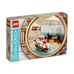 LEGO® Ideas Ship in a Bottle