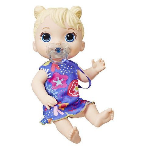 BABY ALIVE Baby Lil Sounds: Interactive Blond Hair Baby Doll