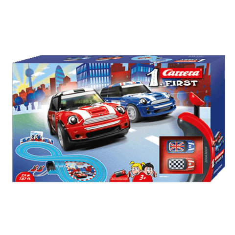 CARRERA FIRST Mini Cooper Set 2.4m