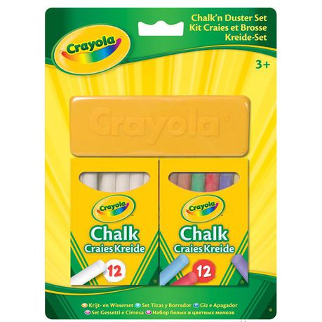 CRAYOLA Chalk'n Duster Set