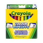 CRAYOLA Colour Wipeoffs White Board Markers 8