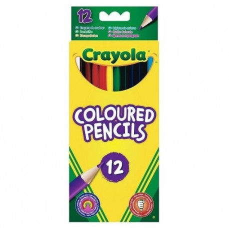 CRAYOLA Coloured Pencils 12
