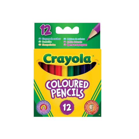CRAYOLA Short Coloured Pencils 12