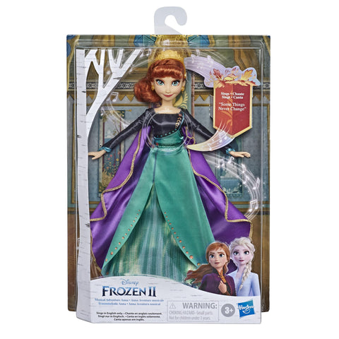Disney Frozen Finale Singing Anna Fashion Doll