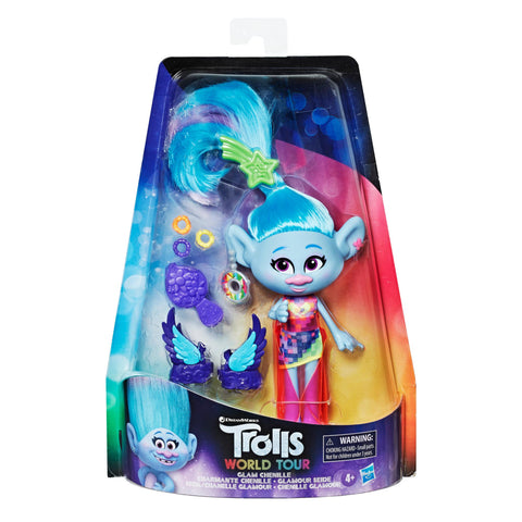 DreamWorks Trolls Glam Chenille Deluxe Fashion Doll