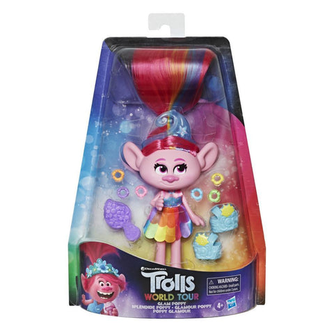 DreamWorks Trolls Glam Poppy Deluxe Fashion Doll