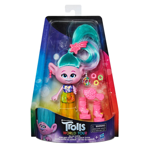 DreamWorks Trolls Glam Satin Deluxe Fashion Doll