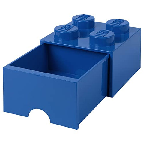 LEGO® 4-stud Blue Storage Brick Drawer