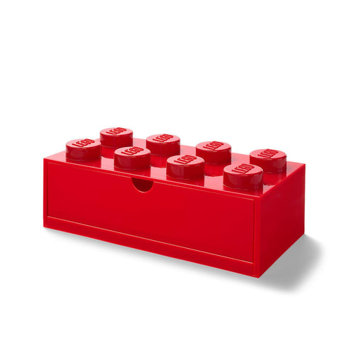 LEGO® 8-Stud Red Desk Drawer